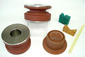ウレタンゴムライニング及び切削加工品